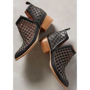 JEFFREY CAMPBELL Taggart Leather Cutout Bootie
